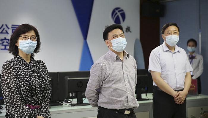 龙传华、陈劲超赴宜昌片区调研指导疫情防控和复工复产工作